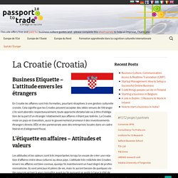 Business Culture en Croatie