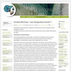 Croatie/Slovénie: une intégration réussie?