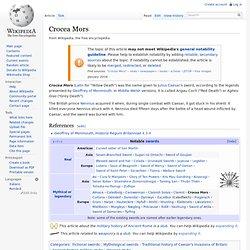 Crocea Mors