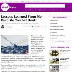 Crochet Advice for Beginners From an Expert