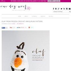 Olaf from Frozen Crochet Amigurumi Pattern