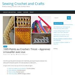 1005 Points au Crochet / Tricot - Apprenez à travailler avec eux