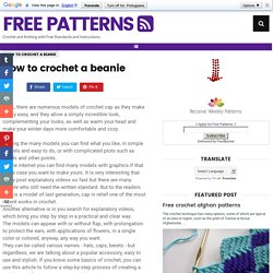How to crochet a beanie ~ Free Patterns