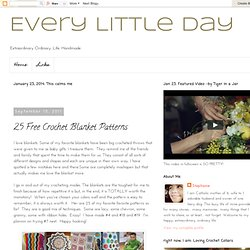 25 Crochet Blanket Patterns