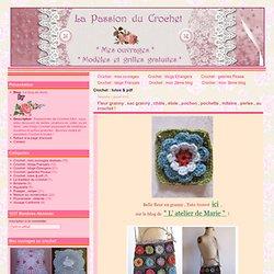 Crochet : tutos & pdf - Fleur granny , sac… - Capeline , chêche ...