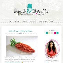 Crochet Carrot Pouch Pattern