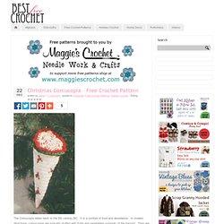 Christmas Cornucopia – Free Crochet Pattern