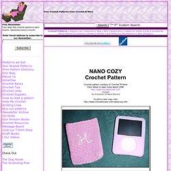 NANO COZY Crochet Pattern