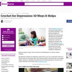 Como Crochet ajuda com 10 sintomas da depressão