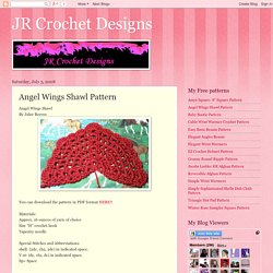 Angel Wings Shawl Pattern