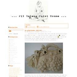 Crochet - Fil Hélène Point Comme...