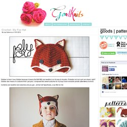 Crochet: Sly Fox Hat « ohmygoodknits! // a knitting & crochet blog