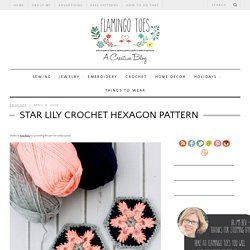 Star Lily Crochet Hexagon Pattern -Flamingo Toes