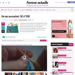 Un sac au crochet : SC n°190 - par Isabelle Kessedjian