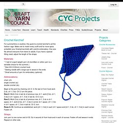 Welcome to the Craft Yarn Council