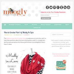 How to #Crochet the Madly In Love Pattern on Moogly!