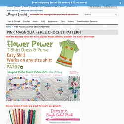 Pink Magnolia - Free Crochet Pattern