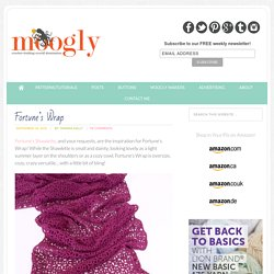 Free #Crochet Pattern: Fortune's Wrap - Moogly