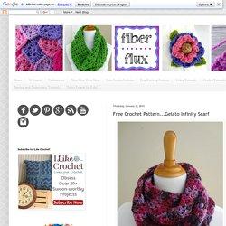 Free Crochet Pattern...Gelato Infinity Scarf