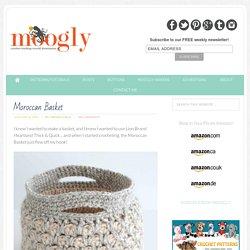 Free #Crochet Pattern: Moroccan Basket - Moogly