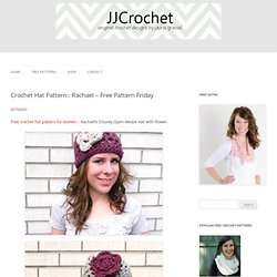 Rachael – Free Pattern Friday