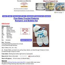 Free Crochet Pattern Baby Reindeer Hat : Layette Pearltrees