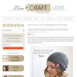 Crochet Hat Pattern: Free Slouch Pattern - Darice