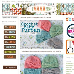 Crochet Baby Turban Pattern & Tutorial
