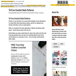 16 Free Crochet Doily Patterns