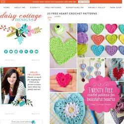 20 Free Heart Crochet Patterns