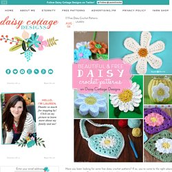 17 Free Daisy Crochet Patterns