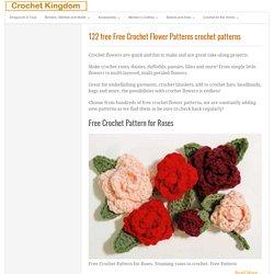 Free Crochet Flower Patterns ⋆ Crochet Kingdom (110 free crochet patterns)
