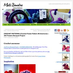 365 Crochet Flower Bouquet Project – DAY 8 (Free Anemone Crochet Pattern)