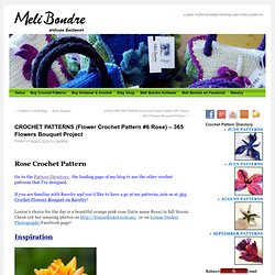 365 Crochet Flower Bouquet Project – DAY 6 (Free Rose Pattern)
