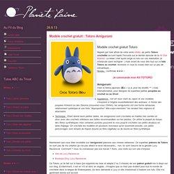 Planète Laine: Modèle crochet gratuit : Totoro Amigurumi