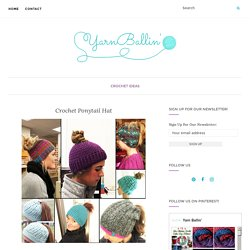Crochet Ponytail Hat