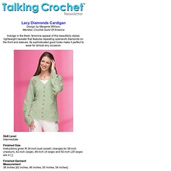 Crochet! -- Talking crochet ...