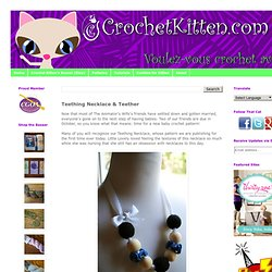 Teething Necklace & Teether