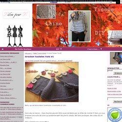 Crochet Tunisien Tuto #1 - Lilou pour L.