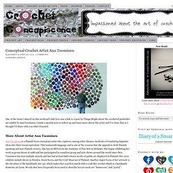 Crochet Artist Anu Tuominen