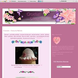 Crochet : Tutos & Pdf (6)