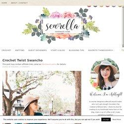 Crochet Twist Swancho - Sewrella