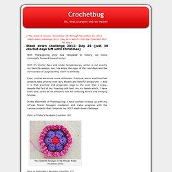 Blog Archive » Stash down challenge 2012: Day 25 (just 30 crochet days left until Christmas)