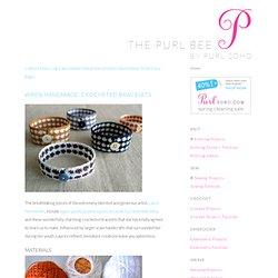 Wren Handmade: Crocheted Bracelets