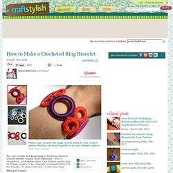 Tuto bracelet au crochet