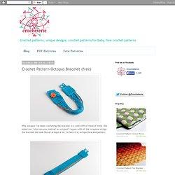 Crochet Pattern Octopus Bracelet (free)