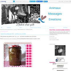 Serial Crocheteuse 122 : confiture et crochet