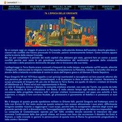CROCIATE - L'EPOCA - STORIA DELLE CIVILTA'