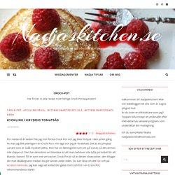 Crock-Pot – Nadjaskitchen.se