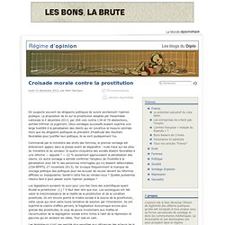 Croisade morale contre la prostitution